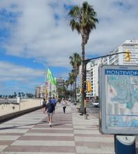 Strand in Montevideo, Uruguay