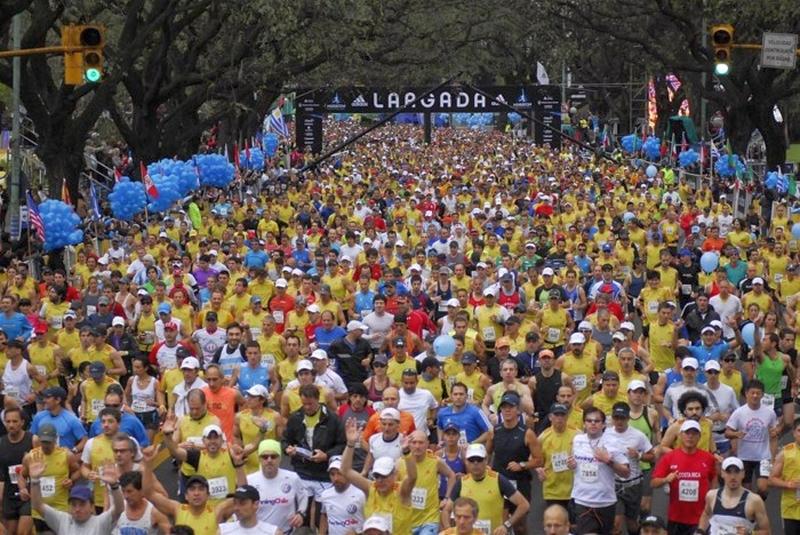 Start des Buenos Aires Marathons 2012