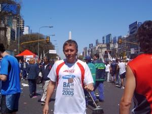 Die erste Medaille von Buenos Aires 2005