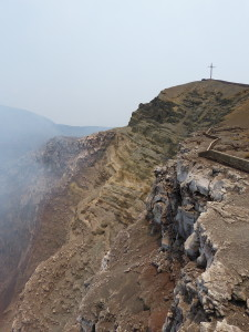 Krater vom Vulkan Masaya in Nicaragua