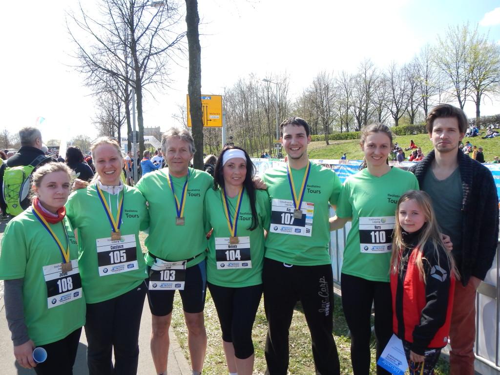 Unser Team (v.l.): Juliane, Conny, Fred, Meli, Kay, Nora, Cynthia, Christoph