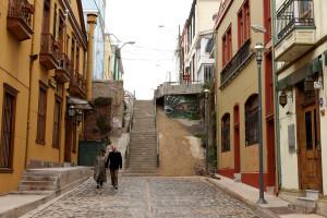 Nostalgie in den Straßen von Valparaíso