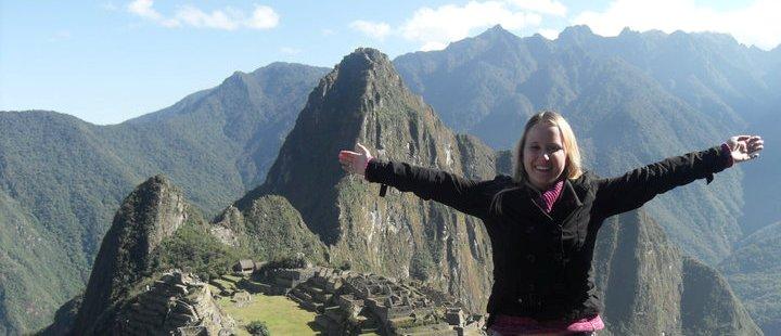 """...und auch ich hatte eine schöne Zeit in der Ruinenstadt Machu Picchu!"""""""