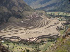 Die Ruinen von Patallacta