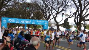 Startschuss zum Buenos Aires Marathon 2015