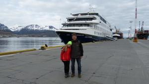 Schiffsreise nach Punta Arenas