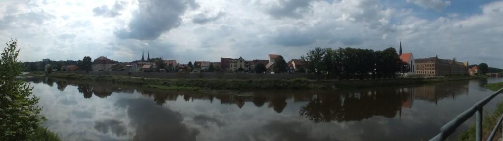 Blick nach Grimma