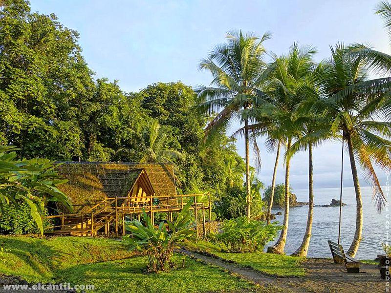 Kleines Paradies am Pazifik