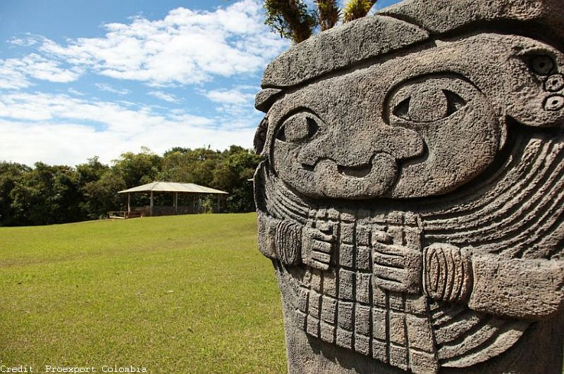 Die Felsskulpturen von San Agustín