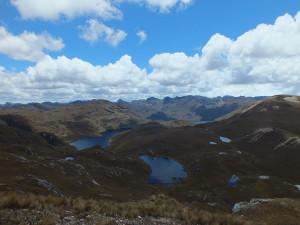 Cajas Nationalpark Aussichtspunkt