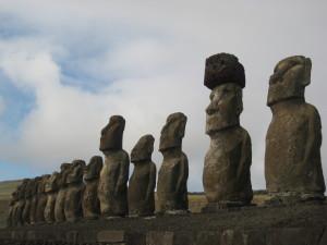 Ob diese Moai wohl auf den Osterhase warten?